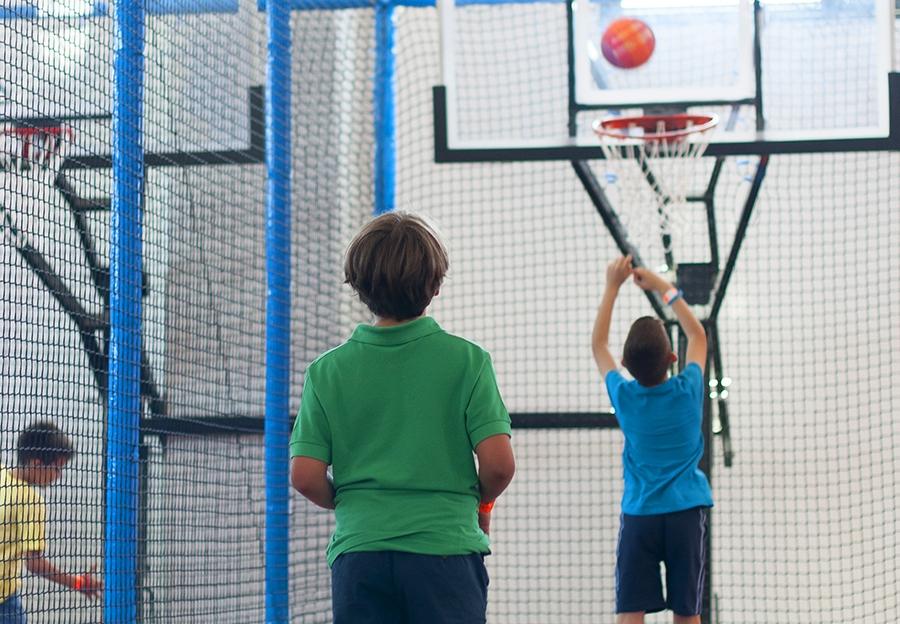 Canary Jump Tenerife - zona de baloncesto